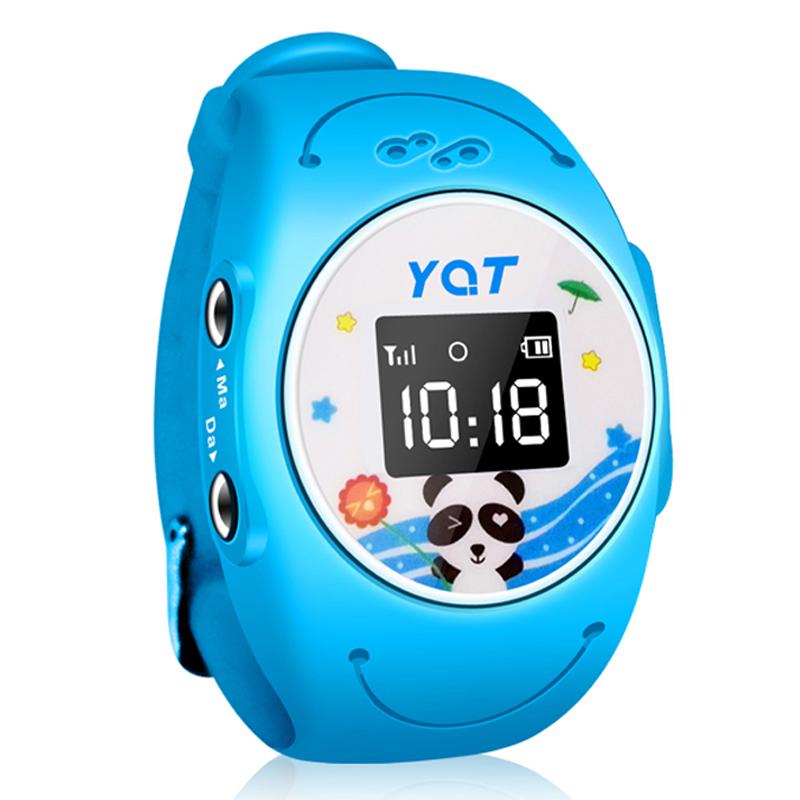(12491674)智能手表电话 儿童定位手表手机 防水手表电话[蓝色 ]