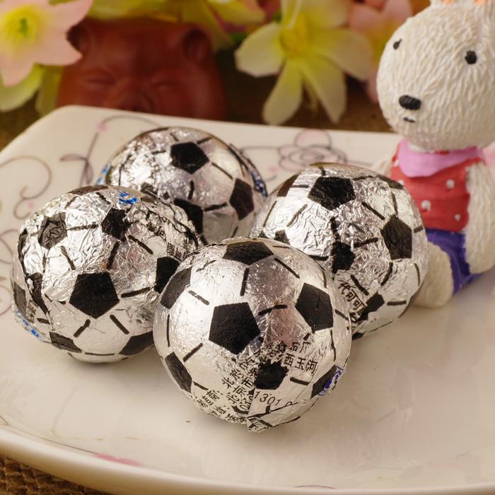 足球形状巧克力球
