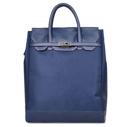 方块字 经典大牌女包鳄鱼纹牛皮子母包三件套包5803[宝蓝色] ¥129.