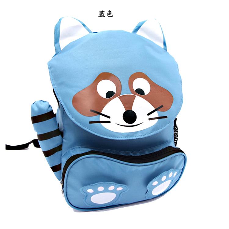 童趣儿童背包卡通造型小书包双肩包-小浣熊[]