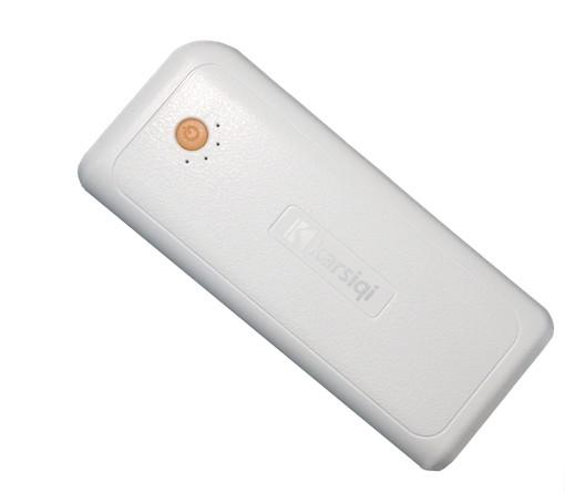 移动电源k42 10400mah[白橘色]