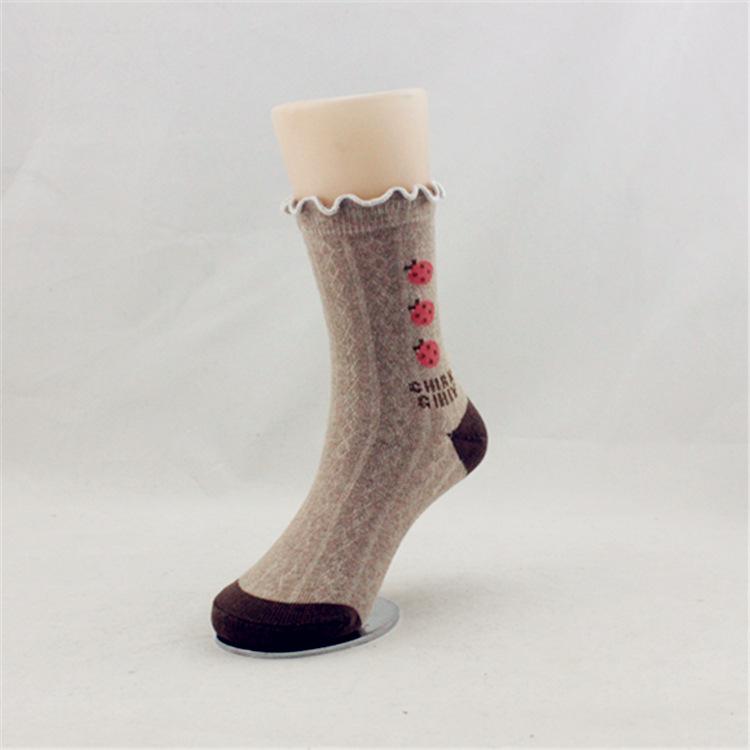 儿童袜子批发小瓢虫卡通童袜子