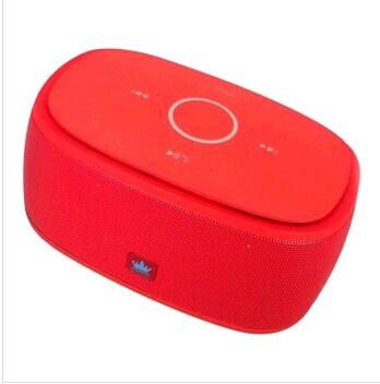 金冠 无线蓝牙小音箱低音炮/苹果iphone5/4安卓车载音箱k5[红色 红色]