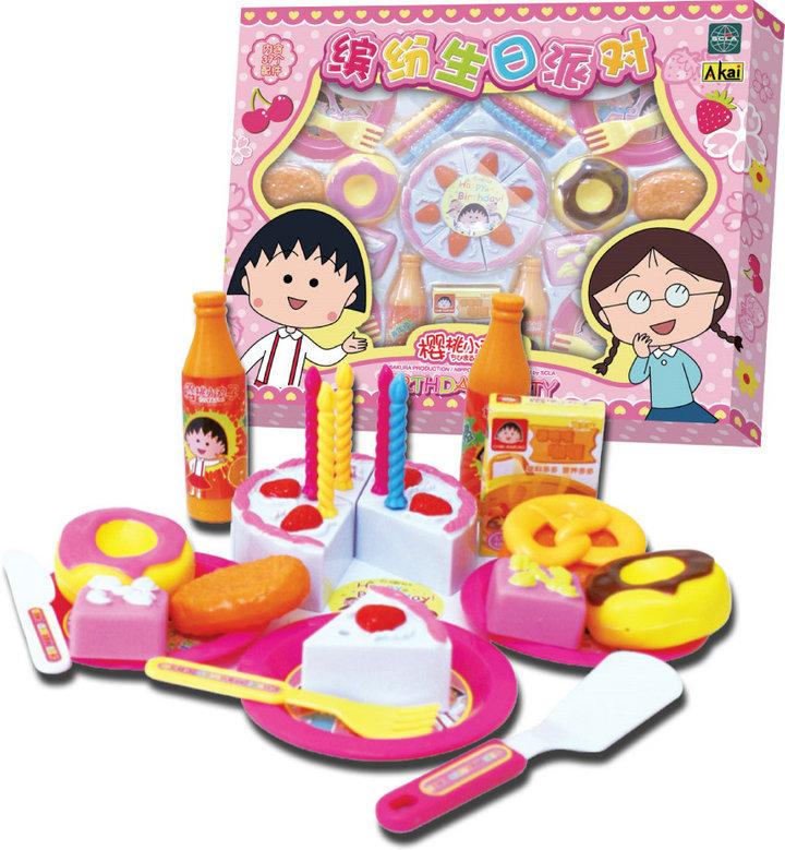 樱桃小丸子 过家家玩具